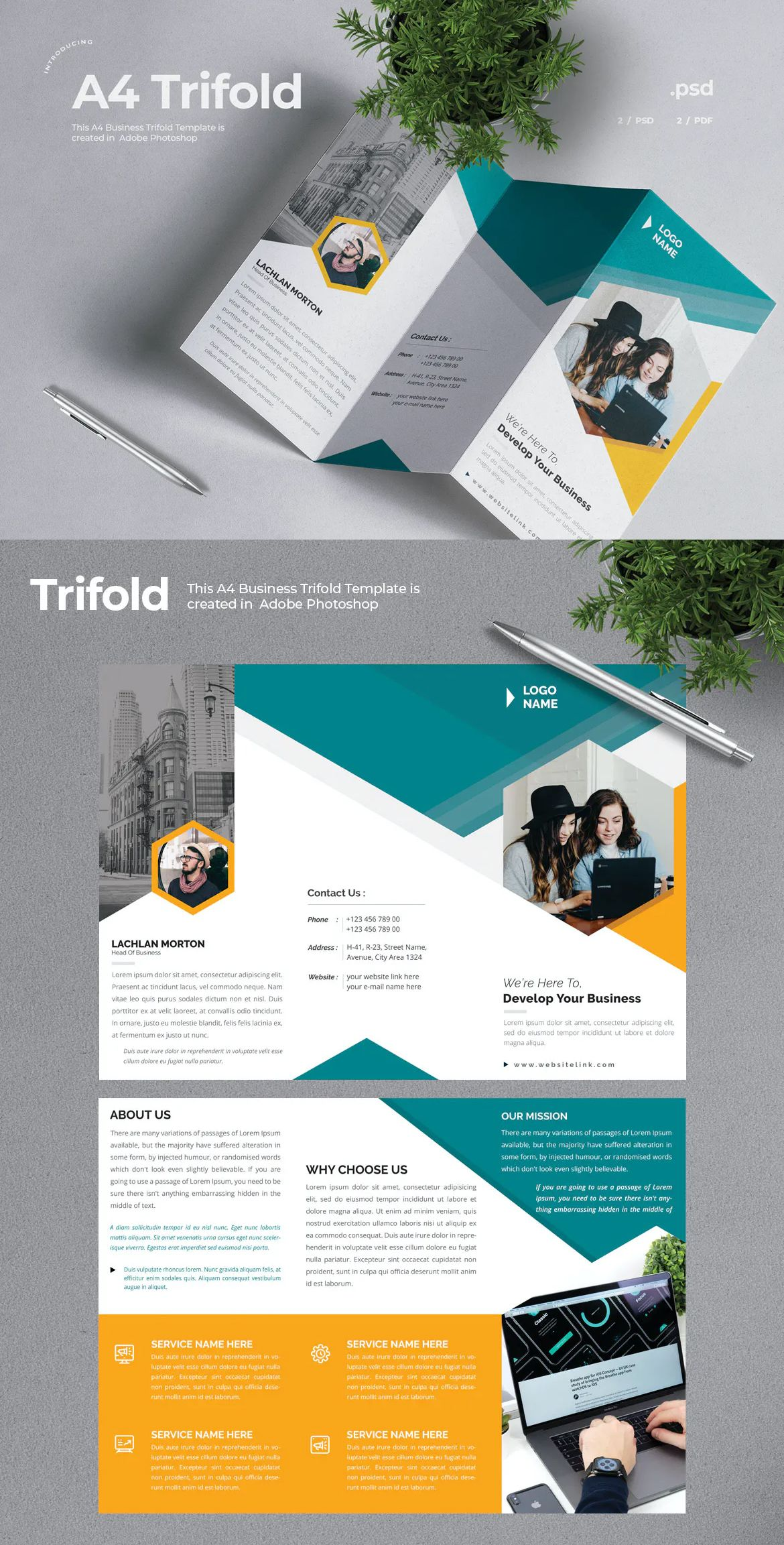 Pin On Brochure Design Templates