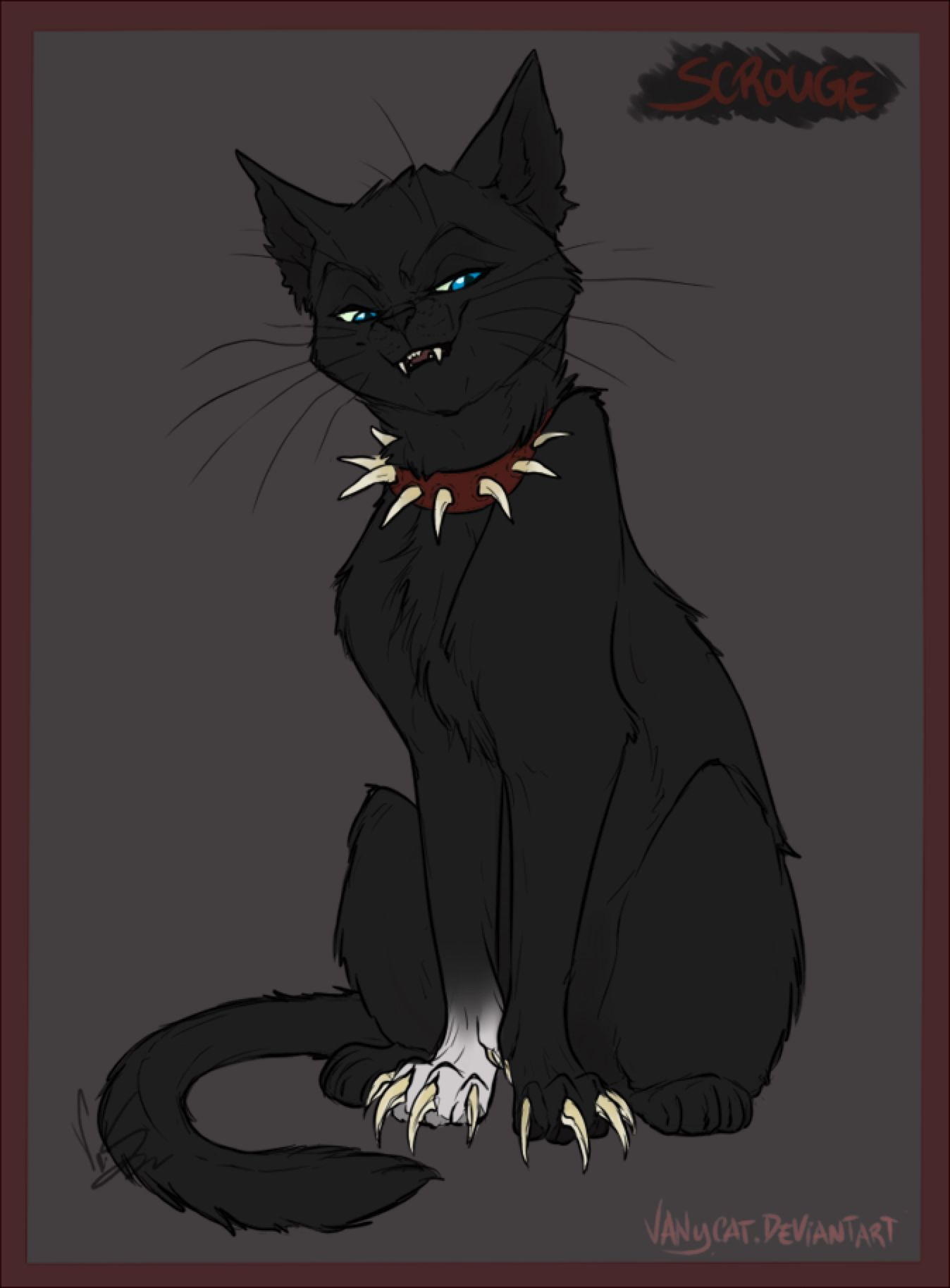 Warrior Cats - Scourge by VanyCat on @DeviantArt