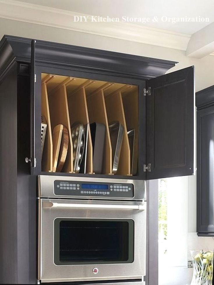 15 Great Storage Ideas For The Kitchen Anyone Can Do #kitchenorganization