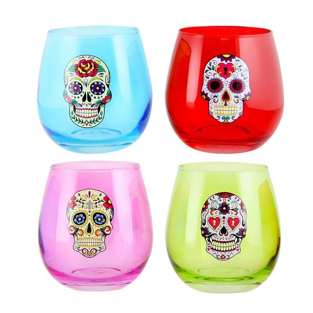 sugarskulls  mysugarskulls  dayofthedead  mexicanskulls  candyskulls   skulls. Calaveras De DulceCalaveras De AzúcarCopas De Vino Sin ... 96c0654cb4a
