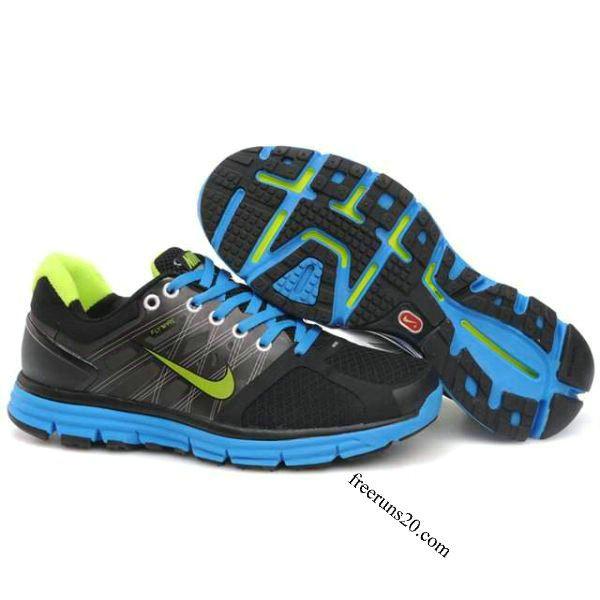 39be7f13fda0d Nike Lunarglide 2 Mens Black Blue  55.90