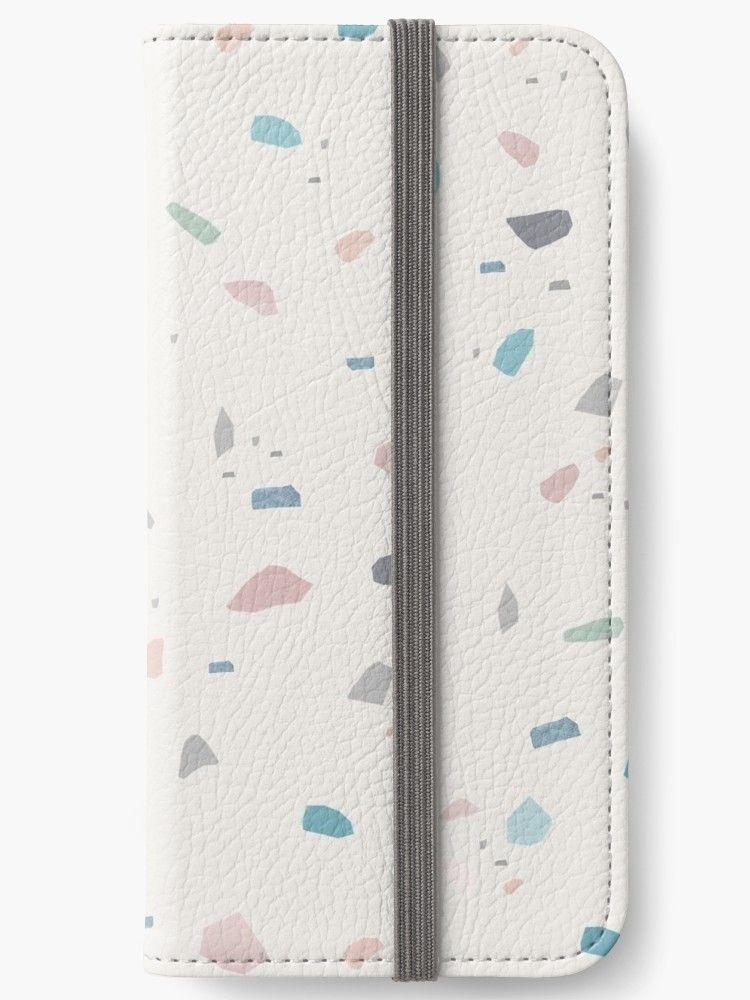 wholesale dealer 285ec 0d1b0 Pastel Creme Terrazzo #1 #decor #art ' iPhone Wallet by ...