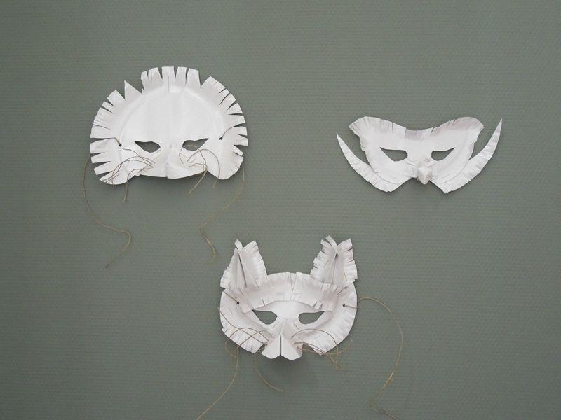 masque papier jetable enfant