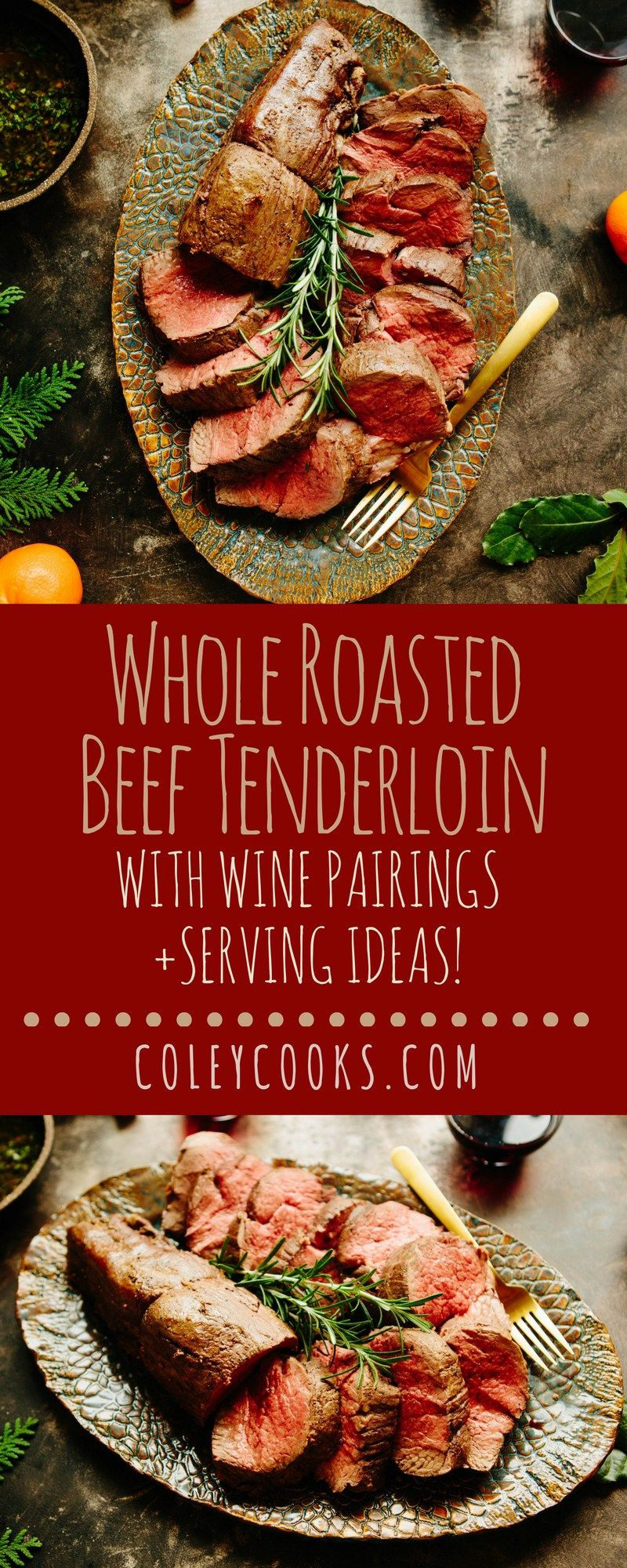 Whole Roasted Beef Tenderloin Recipe With Images Whole Beef Tenderloin Beef Tenderloin Beef