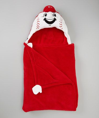 Take a look at this Cincinnati Reds Huggable Hooded Blanket by MascotWear on #zulily today!