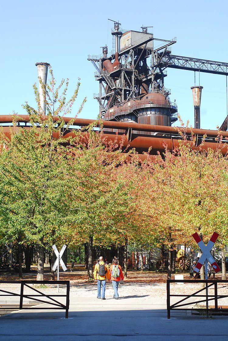 Landschaftspark Duisburg Nord Ecological Features Park Landscape Landscape Architecture Landscape
