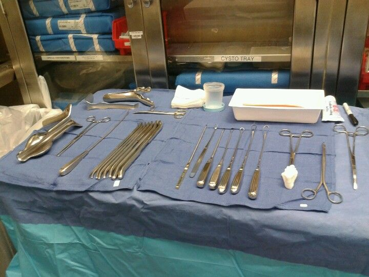Operating Room D Amp C Set Up Surgical Tech Operating