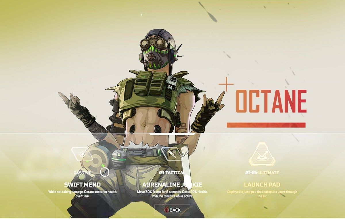 Octane New Apex Legends Fighter Is Coming Video Game Posters