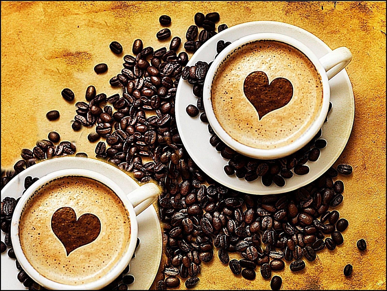 Szív barát kávé Café matin, Café, Café coeur