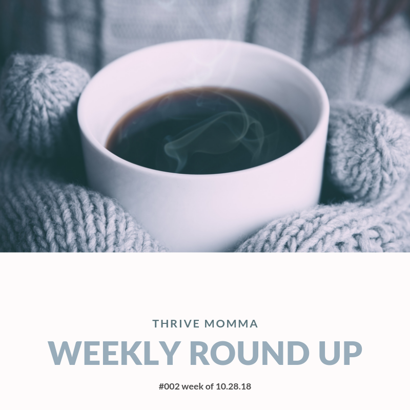 Thrive Momma Weekly Round Up (002) | Coffee drinks, Almond milk coffee, Coffee maker reviews