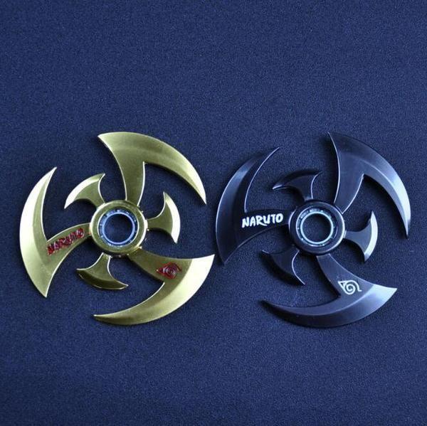 Fidget Spinners Naruto Shuriken Ring Blade Special Toys Hand