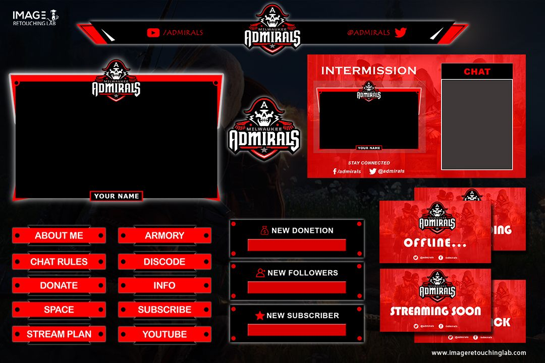 Twitch Overlay Free Overlays Photo Editing Services Overlays