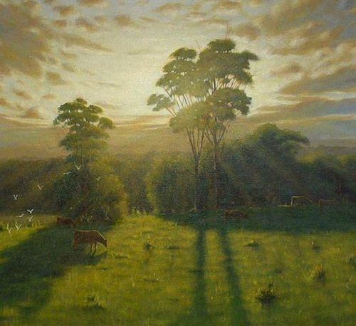 Learn to paint an acrylic landscape painting with mark for How to learn to paint with acrylics