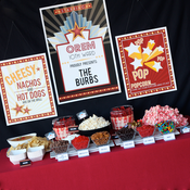 Wants and Wishes Party printables — Home