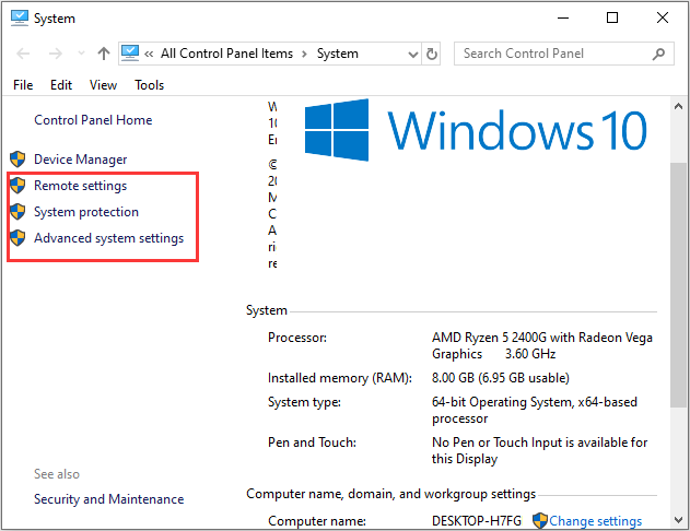 5 Feasible Methods To Open System Properties Windows 10 Windows 10 Windows 10 Things