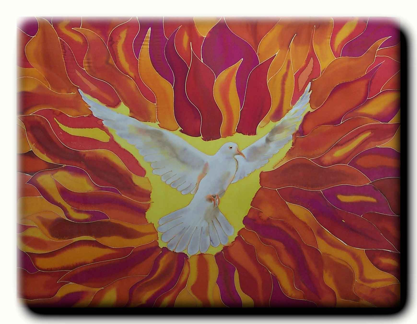 Download Pentecost Catholic Tongues Of Fire Pictures, Wallpapers