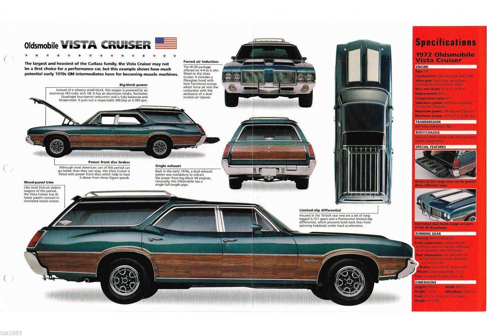 Pin By Hf On Cars Station Wagon Oldsmobile Vista Cruiser