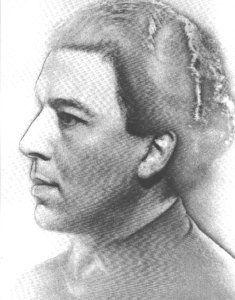 Man Ray photograph of Andre Breton