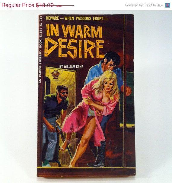 In Warm Desire by William Kane Vintage Paperback Book 1965 Greenleaf Sleaze  Erotica