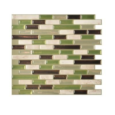 Peel And Stick Mosaic Decorative Wall Tile Smart Tiles Muretto Eco 1020 Inw X 910 Inh Peel And Stick