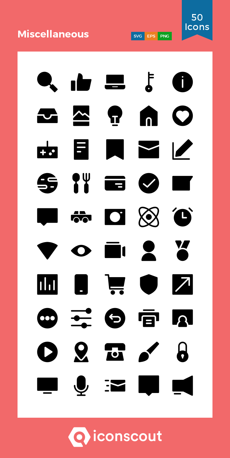 Download Miscellaneous Icon Pack Available In Svg Png Eps Ai Icon Fonts Wifi Icon Glyph Icon Microphone Icon