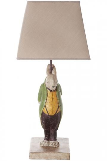 Proper Hare Table Lamp Table Lamps Accent Lamps Decorative Lamps Rabbit Lamps Theme Lamps Animal Lamps Uniqu Lamp Country Easter Decor Table Lamp