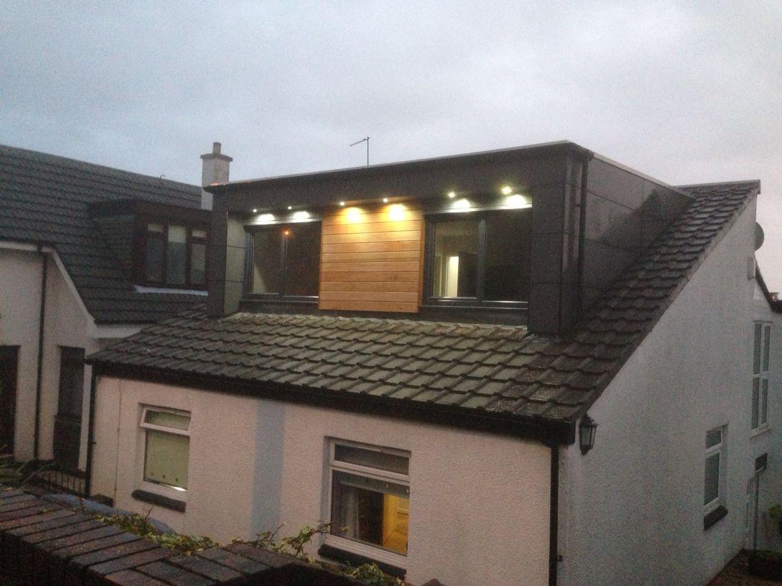 Modern Dormer Loft Conversion Clydebank Loft
