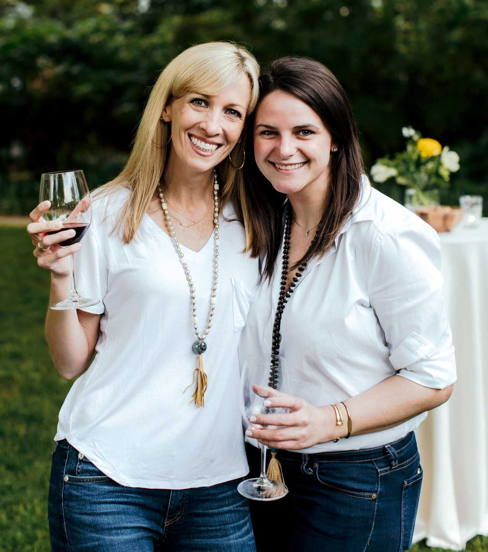 TSG Cincinnati Editor Lisa Hoberg (left) with TSG HQ's Meg