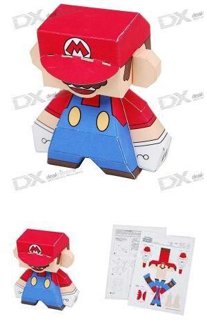 Origami Mario Geeknewz Diy Mario Origami Super Mario