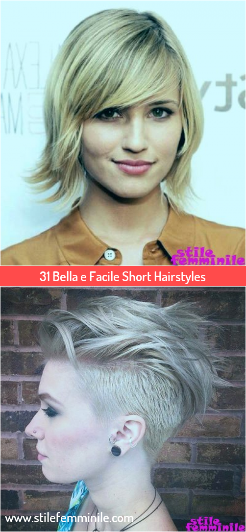 Photo of 31 Beautiful and Easy Short Hairstyles