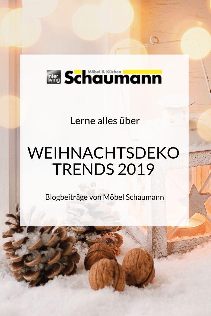 Weihnachtsdeko 2019 » alle Trends, Farben & Tipps im Ratgeber!