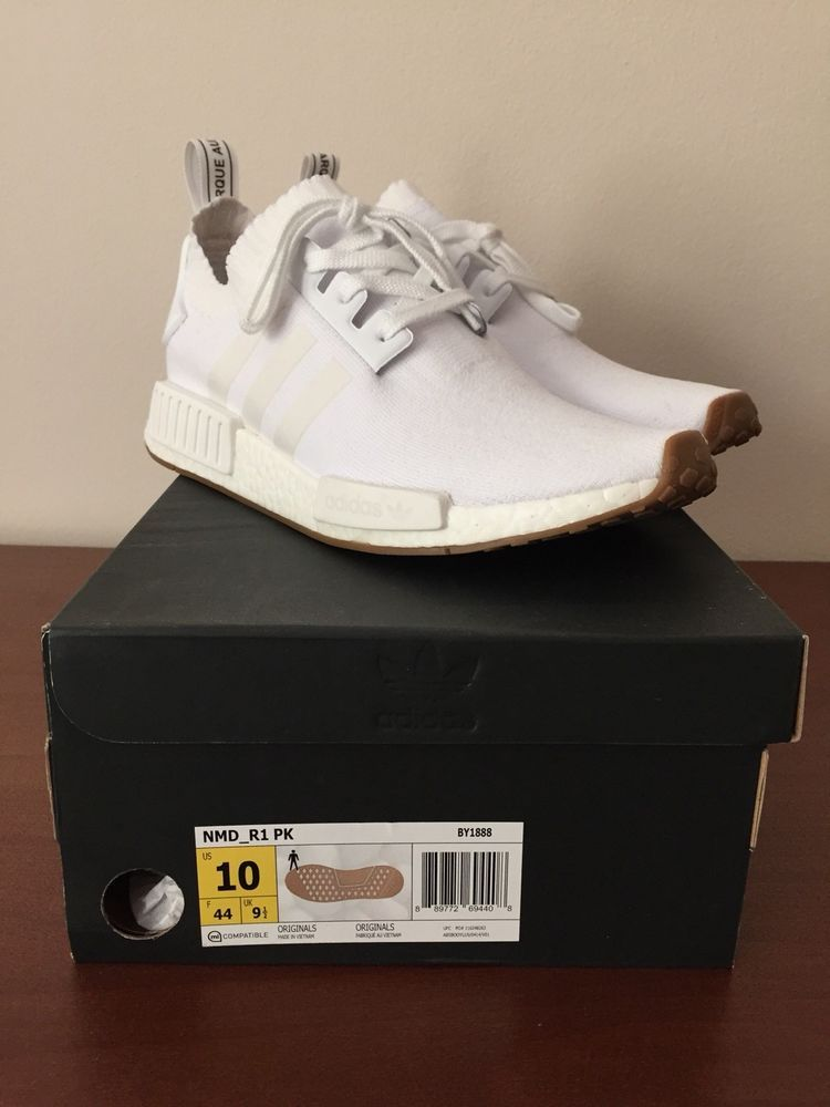 92ff9b32f NEW MEN S ADIDAS ORIGINALS NMD R1 BOOST SHOES  D96635  CLOUD WHITE  WHITE- GUM  fashion  clothing  shoes  accessories  mensshoes  athleticshoes (ebay  link)