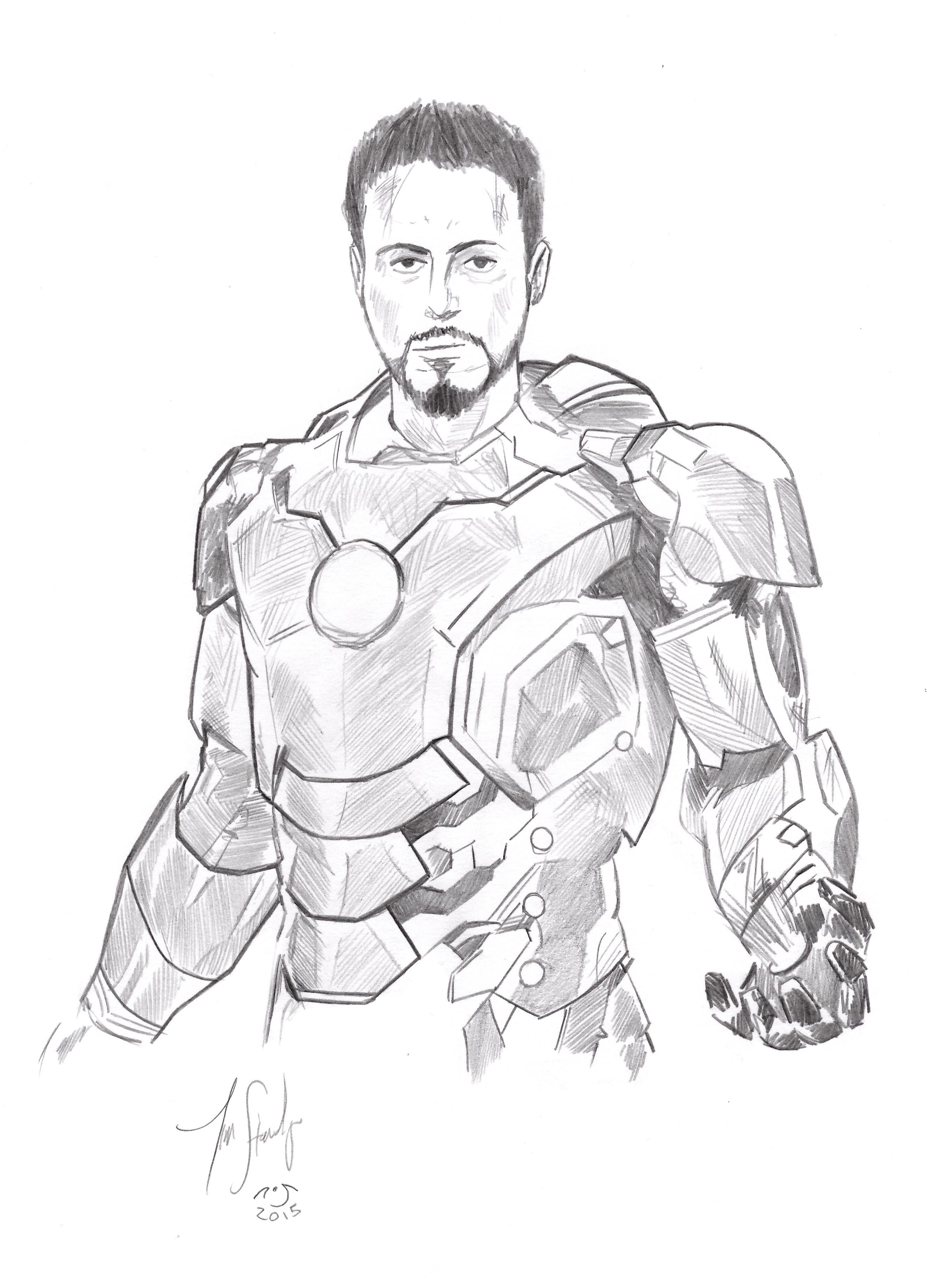 Robert Downey Jr As Tony Stark S Iron Man From Avengers Age Of