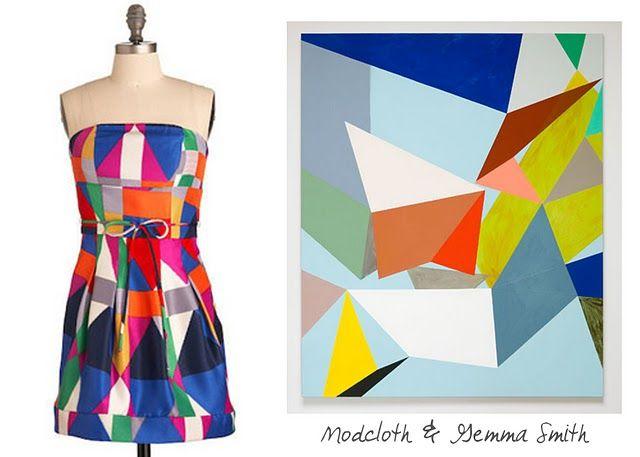 Geometric Fashion Art Geometric Fashion Colour Blocking Fashion Geometric Graphic