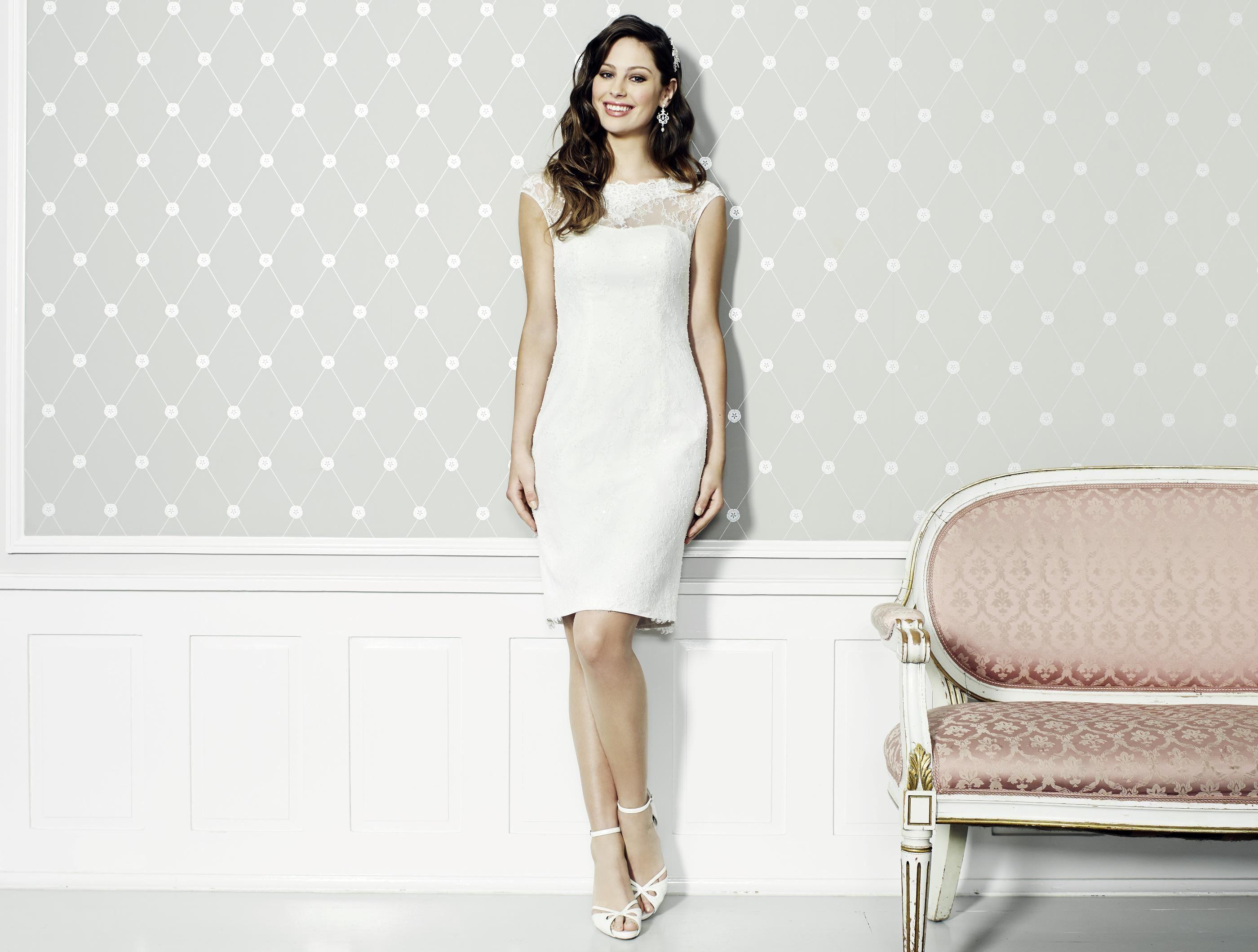 Kleid kurz   Hochzeit   Pinterest   Kleid standesamt, Ideen für die ...