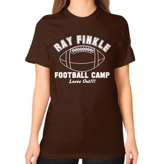 Apparels rayfinkle Unisex T-Shirt (on woman)