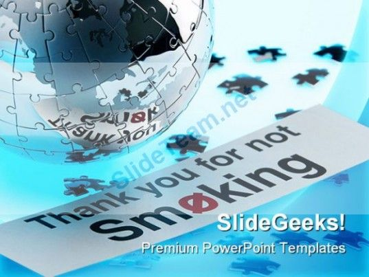 Not smoking globe powerpoint template 1110 powerpoint templates not smoking globe powerpoint template 1110 powerpoint templates themes background toneelgroepblik Images