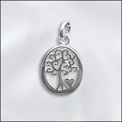 Check out our new selection of  Sterling silver Tree of Life charms. 3 different charms available. www/wholesalejewelrysupply.com