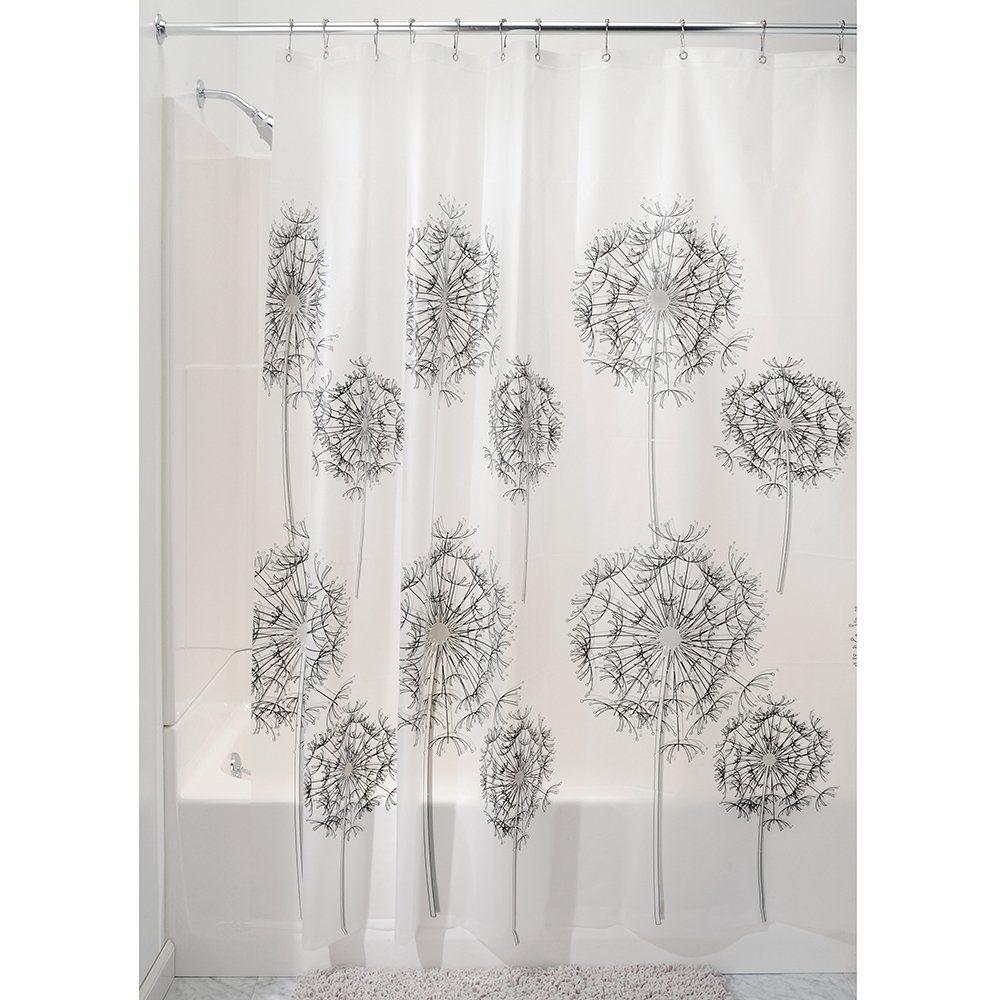 amazoncom interdesign allium 72inch by 72inch shower curtain