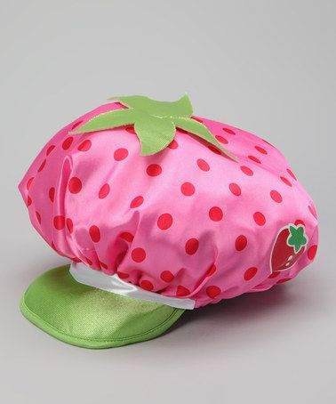 0ac02d32788 Take a look at this Pink Strawberry Shortcake Hat by Strawberry Shortcake  on  zulily today!