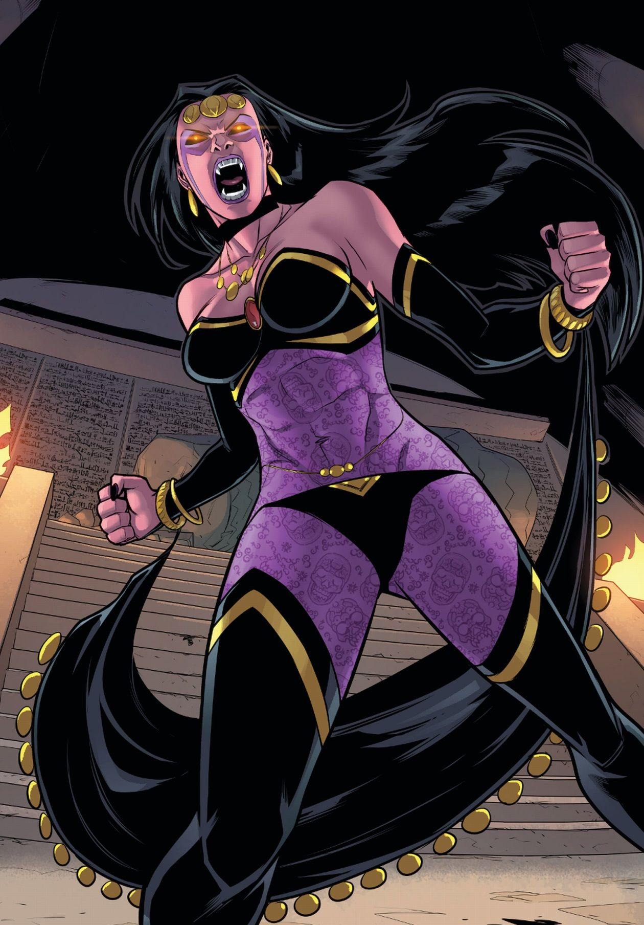 Shiklah (Earth-616)   Deadpool, Marvel and Comic