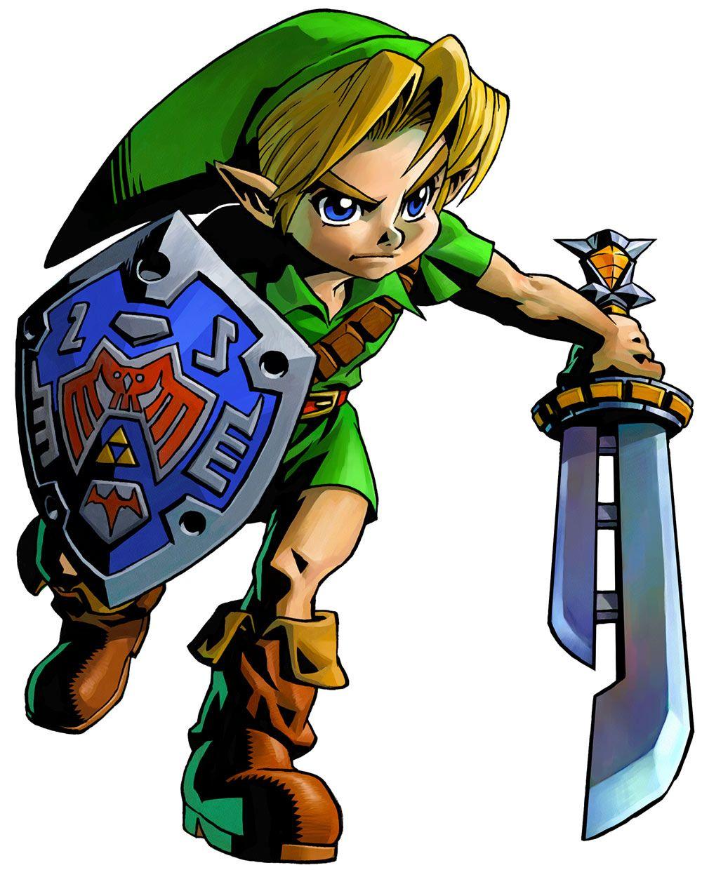 The Legend of Zelda: Majora's Mask 3D / Young Link with Razor ...