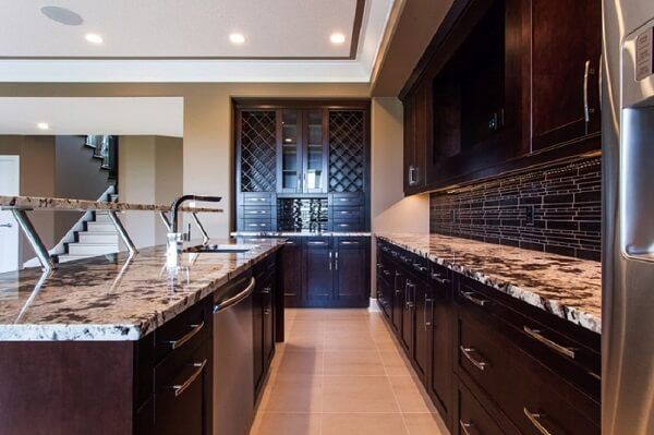 Natural Stone Is A Popular Choice For Countertops. Stone Is Attractive,  Durable And A