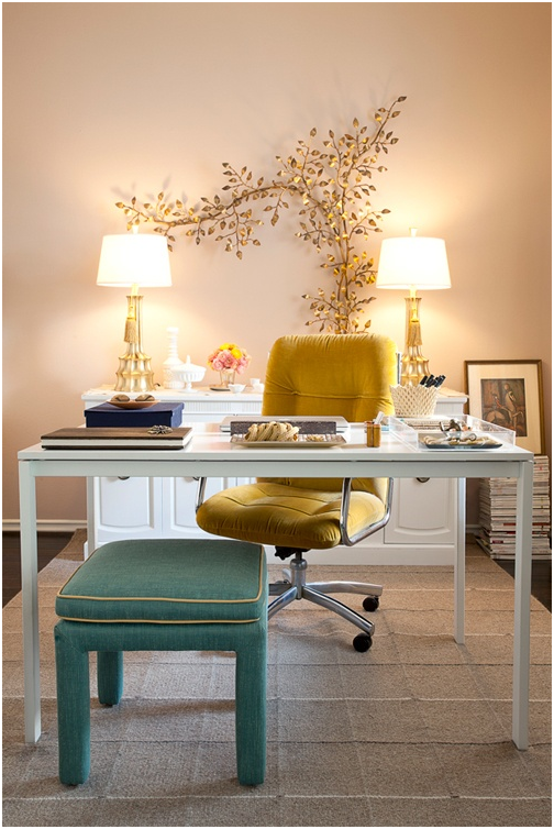 elegant office Office Pinterest Office spaces Spaces and