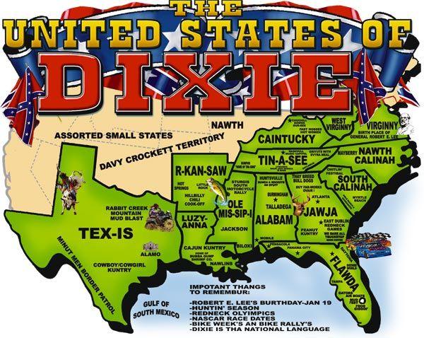b80a777e0 THE UNITED STATES OF DIXIE | Texas | Confederate states of america ...