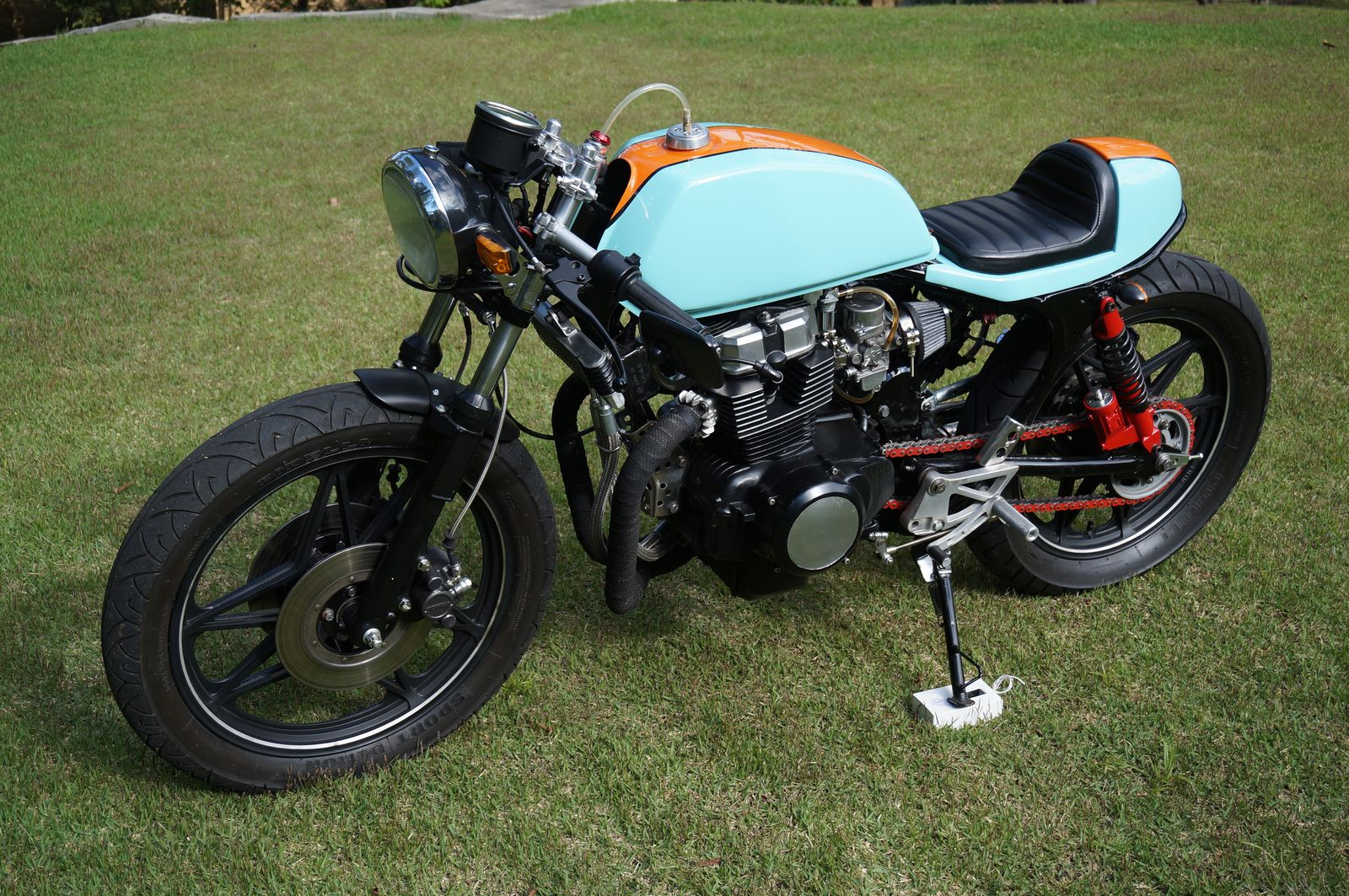 Cb 450 gulf by marco silva garagem cafe racer motocicletas cb 450 gulf by marco silva garagem cafe racer thecheapjerseys Image collections