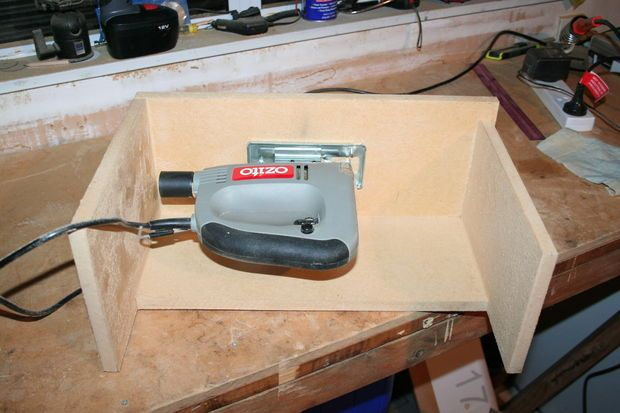 Inverted Upside Down Jigsaw Bandsaw Woodworking