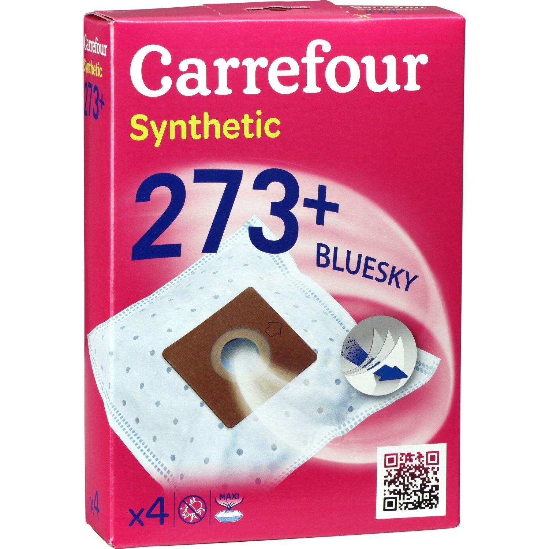 Sacs Aspirateurs Bluesky 273 Carrefour La Boite De 4 A Prix Aspirateur Sac Et Boite