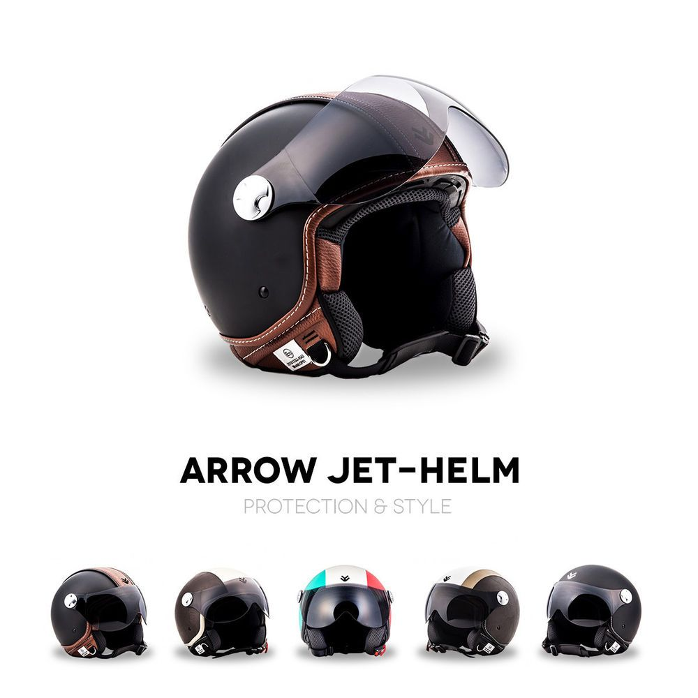 retro oldtimer motorradhelm brille motorrad helm fr ddr moped. Black Bedroom Furniture Sets. Home Design Ideas
