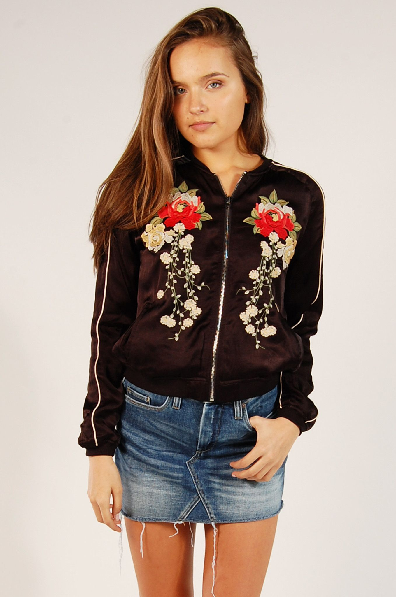 Own The Night Bomber Jacket